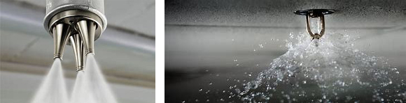 Water mist and spray sprinkler systems - Veritas Fire Support